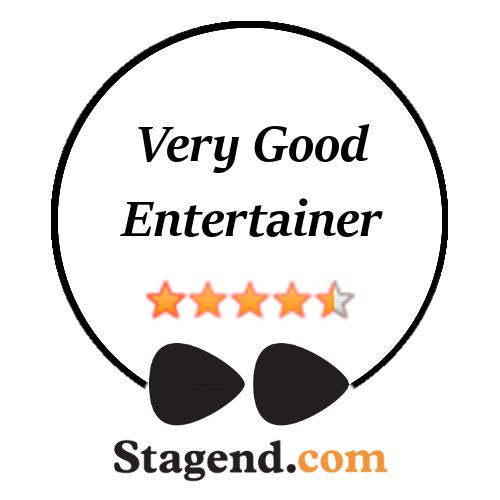 Crazy Pony - Music, acrobatic & comedy badge