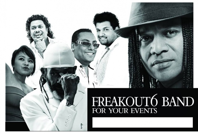FREAKOUT 6 International COVER BAND For Your Events