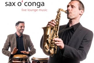 sax o`conga - Saxophonist: Solo, Duo, Cello, Band & DJ - Von Apéro, Zeremonie bi