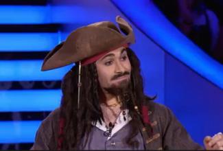 Sosia / Jack Sparrow, Charlie Chaplin, Johnny Depp