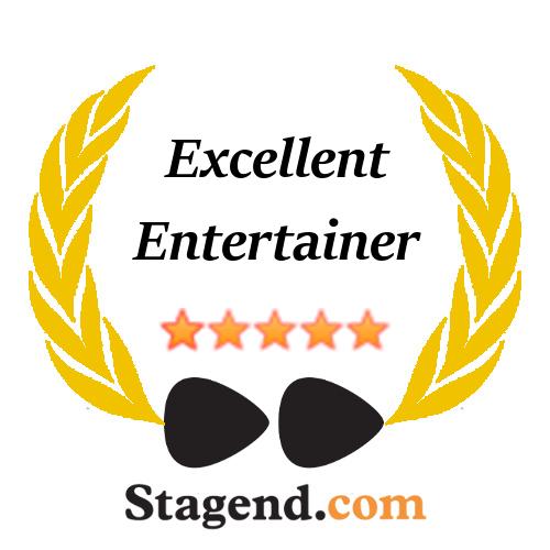 Amélie & Alex - Top Music for Events, Wedding, Hotel badge