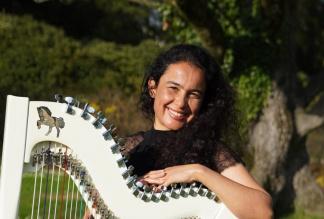 Violeta Ramos - Harp & Guitar - Solo, Duo, Trio