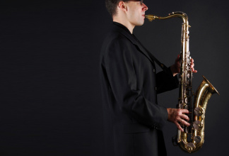 Saxophone & Playalong - smallest possible Band