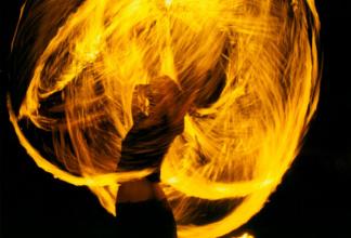 Feuershow-Worskhop