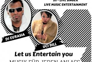 DJ & LIVE SINGER ( DUO Live Music - Entertainment )
