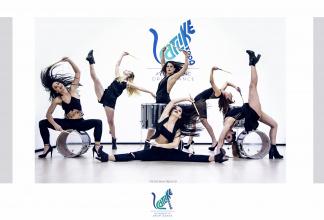 Catlike Mood - Acrobatic Drum Dance
