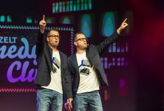 Die Zwillinge - das eineiige Comedy-Duo