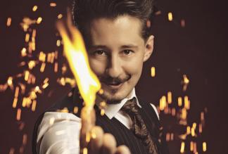 Zauberer Rafael Scholten